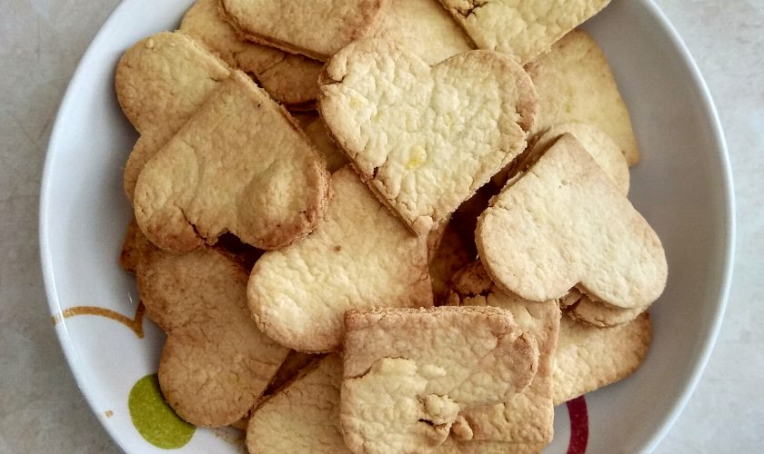 Ciasteczka maślane bez cukru
